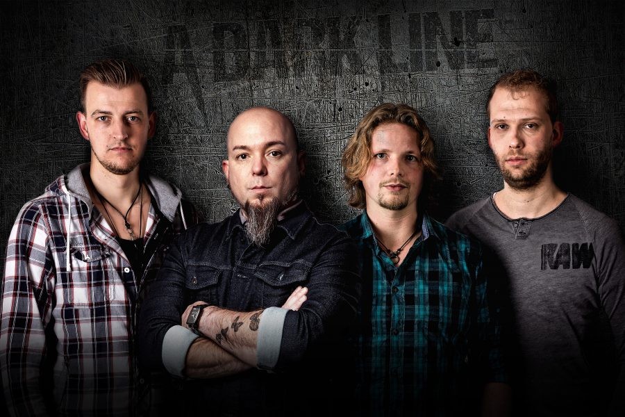 Fotoshoot met rockband: A Dark Line
